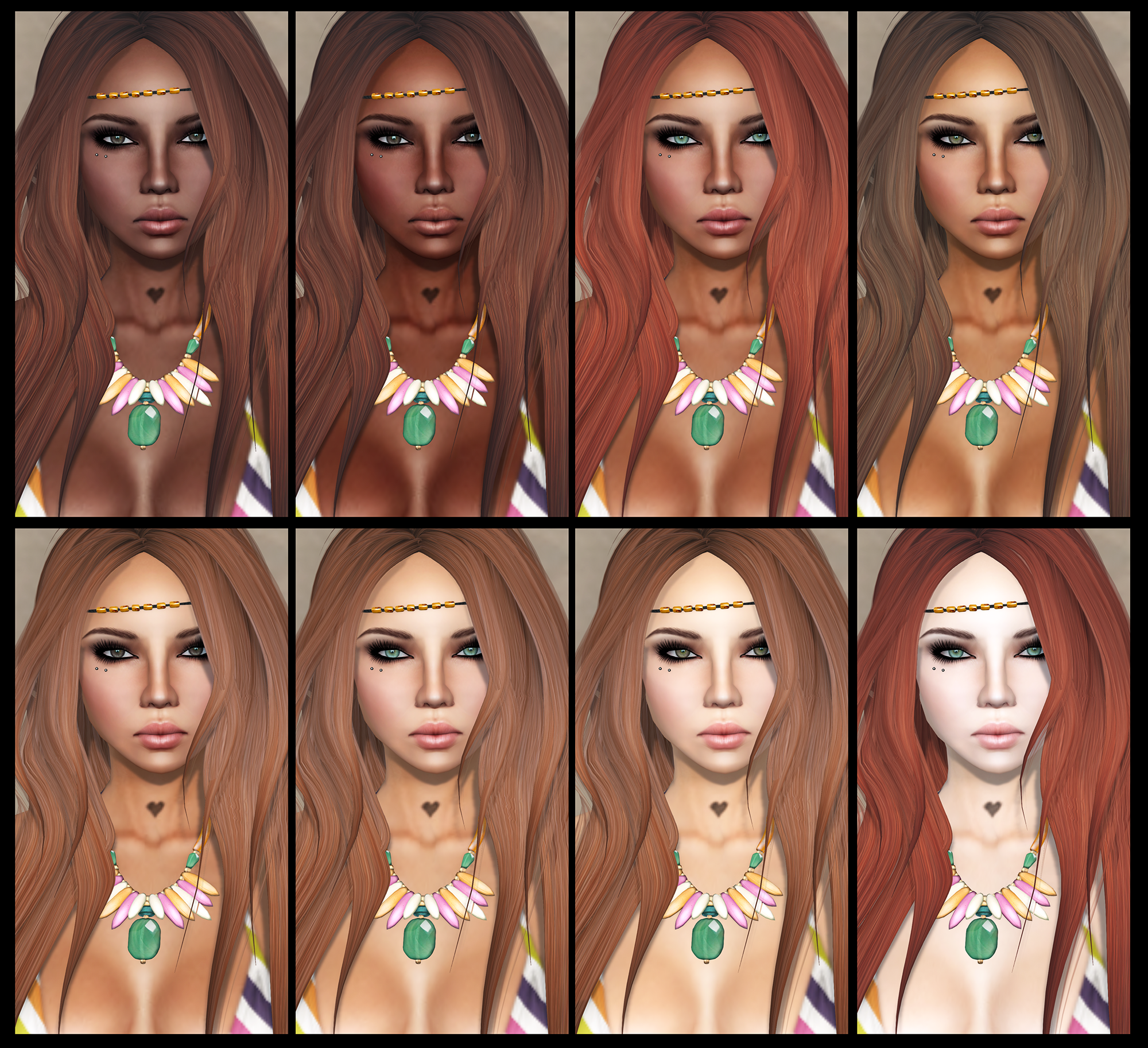 Different Skin Tones All the skin tones can beDifferent Skin Tones On Face